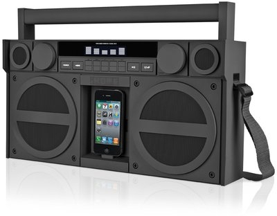 Boombox till iPhone - Retro