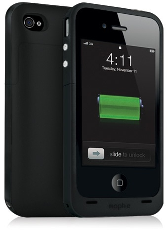 Bästa extrabatterierna till iPhone 4/4S: Mophie Juice Pack Plus