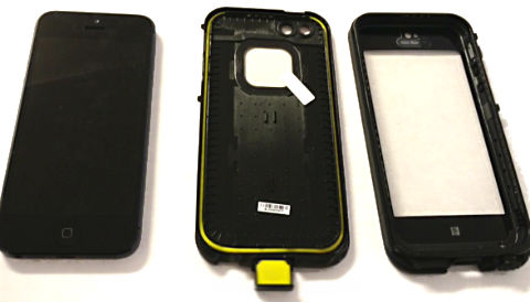 LifeProof Case till iPhone 5 s stter du p skalet