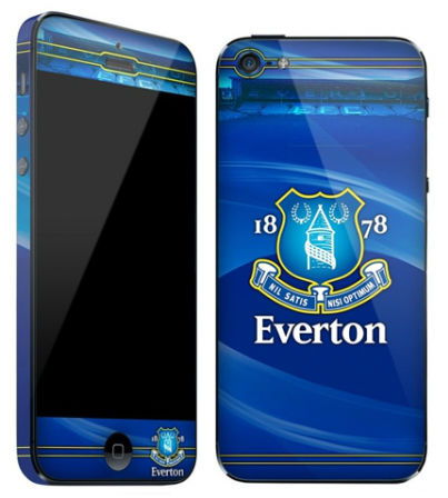 Everton-skin till iPhone 5