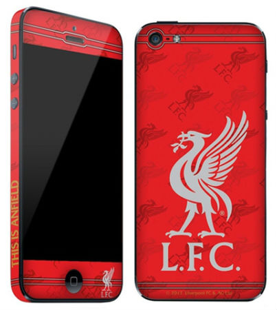 Liverpool-skin till iPhone 5