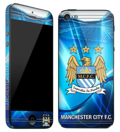 Manchester City-skin till iPhone 5