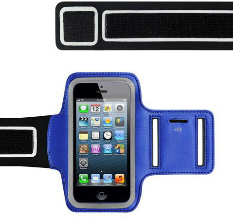 Billigt sportarmband till iPhone 5 EPZI bl