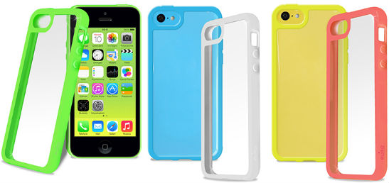 iPhone 5C-skal - Puro Clear Cover