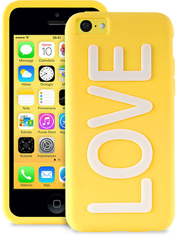 Skal iPhone 5C Puro Night Cover Love